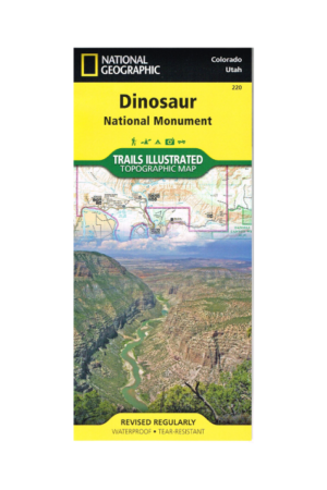 Trails Illustrated Map for Dinosaur NM