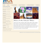Web page for PPCA