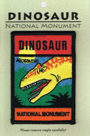 Dinosaur Woven Patch